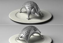 Kitchen Tchotchken / kitchen, cooking, utensils, dish, dishes, bowls, plates, platters, saucers, cups, mugs,  / by BethAnn Mayberry