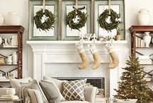 winter / Christmas, New Years, all winter holidays - DIY, decorating & crafty ideas / by Gina @ Shabby Creek Cottage