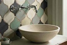 bathroom / bathroom decorating ideas / by Gina @ Shabby Creek Cottage