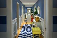 hallways / by Gina @ Shabby Creek Cottage