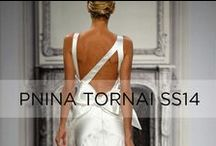 Pnina Tornai Bridal Market 2014  / Exclusive collection for Kleinfeld, designed by Pnina Tornai / by KleinfeldBridal