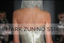 Mark Zunino Collection 2014 / Complete bridal collection exclusive to Kleinfeld, designed by Mark Zunino / by KleinfeldBridal