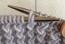 Knitting & Crocheting: Tips/Techniques / Knitting and crocheting / by Lacey Boudreau