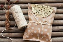 Gift Wrapping Ideas / by Lacey Boudreau