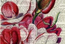 ArTsY PaGeS 2 / IDeaS & InSPiRaTiOn: PaPeR ArT~BooK PaGeS, MaPs, FLoWeRs, ArT JoUrNaL (pages) / by Annette Tarter
