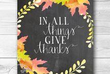 Thanksgiving / by Sandra Corsentino