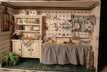Miniatures -  Kitchens / my next project  / by Candace Atwood