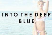 Into The Deep Blue / by Beach Bunny Swimwear