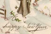 Happy New Year (´・_・`) / Happy New Year / by Chantell Byers