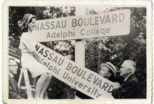 AU Across the Ages / Historic photos of Adelphi / by Adelphi University