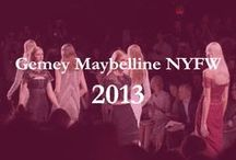 Gemey-Maybelline x MakeMyLemonade NYFW / #NYFW #MakeMyLemonade #NYC #Ykone #2013 / by Ykone