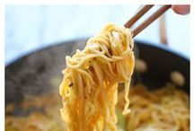 """Food - Pasta / There are recipes for every type of pasta...and even some """"faux noodle""""! / by Sandy Vaughan"""