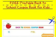 Back to School / Back to school crafts, printables, fun, and more. / by mommypalooza.com