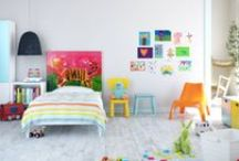 Kids' Rooms / tutorials and inspiration for children's rooms and/or nursery / by Adel Zeller