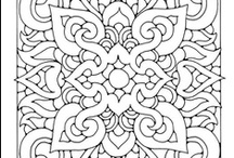 Coloring Pages  / by Leslie Peters Cantrell