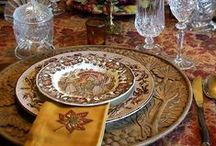 A Creative Thanksgiving Table / by Betsy Smith