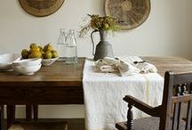 Dining Areas / #dining room and eat-in kitchen design inspiration / by Lauren Cormier Taylor