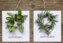 Handmade Holidays / #DIY ideas for various holiday celebrations / by Lauren Cormier Taylor