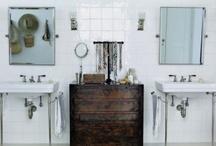 bathrooms / by Natasha Lowe