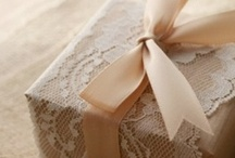 Gift and wrapping ideas. / by Larissa Niessen