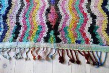 crochet + knit: rugs /   / by tichtach