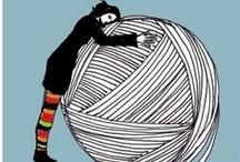 crochet + knit: illustrations / by tichtach
