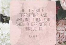 Inspiring Words / by Lizbeth Navarro