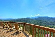 6-Bedroom Cabins in Gatlinburg / 6-bedroom rental cabins in Gatlinburg, TN. Game room, hot tub, home theater, 5-6 baths, full amenities. Lots to do, families and large groups perfect. Call us 24/7 at 855-95-SMOKY, let us match the cabin to your needs. http://www.CabinsOfTheSmokyMountains.com  / by Cabins Of The Smoky Mountains