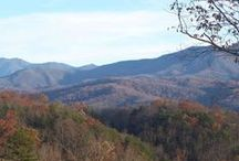 Cabins Mountain View / Gatlinburg and Pigeon Forge rental cabins with spectacular views of the surrounding Smoky Mountains everywhere you look. http://www.CabinsOfTheSmokyMountains.com  / by Cabins Of The Smoky Mountains