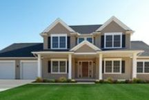 Custom Built Homes: The Saratoga Family / If you're interested in building the Saratoga floorplan for your new custom home, visit http://waynehomes.com/plan/saratoga / by Wayne Homes