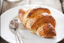 Croissants. / Sweet and savoury croissants. / by Allie