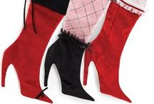 Merrie Christmas - Stockings - High Heels / by Merrie Gerow Hallman