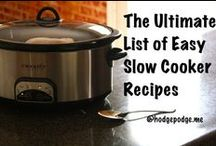 Slow Cooker Recipes / I love simple, few ingredients and slow cooker. More recipes at http://hodgepodge.me/tag/slow-cooker/ / by Tricia Hodges