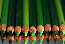 Green, green... / by Tara Woodard