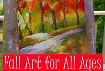 Fall Art / Art lessons and inspiration for fall and autumn / by Tricia Hodges