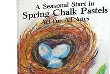 Spring Art / Spring art lessons, projects and inspiration  / by Tricia Hodges