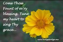 Hymns / All things hymns. Then sings my soul, my Savior God to Thee, How great Thou art...how great Thou art! / by Tricia Hodges