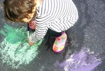Chalk Art / All things chalk art / by Tricia Hodges