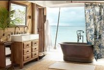 Splish, Splash--What a Bath! / These rooms are bathed in style. / by Mannington Mills
