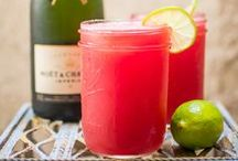 who needs a drink?! cocktail recipes / yummy & simple cocktails you can DIY for any occasion!  / by Christina Coker   Champagne Taste Beer Budget