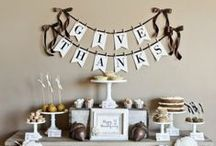 Thanksgiving's Bounty / Before you baste that bird, decorate your home & table to make Thanksgiving is a stylish day everyone will remember. / by Mannington Mills