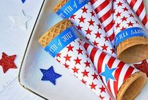 """""""where liberty dwells, this is my country"""" 4th of July / All things star spangled & red, white & blue to celebrate the 4th! / by Christina Coker   Champagne Taste Beer Budget"""