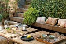 Porch/Yard Inspiration  / by Dylcia Barnhart | designs by dylcia