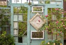 How does your garden grow? / Ideas to improve the garden and grounds... / by Safiya Balekian