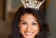 Miss America, Nina Davuluri / A big congratulations to #NinaDavuluri #missnewyork now crowned #MissAmerica2014 from all of us at Indian Weddings Magazine / by Indian Weddings & California Bride