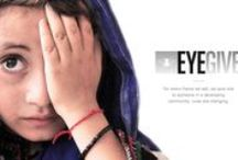 eyeGive. / For our Eye Give program, we've partnered with the Brien Holden Vision Institute to supply frames for their Say Eye campaign, which advocates for improved access to eye care in countries across the globe. / by Eyefly.com