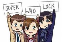 SUPERWHOLOCK! / Supernatural, Doctor Who, Sherlock. Pain, loss, and unbearably long hiatuses. I'm loving it. / by Kathleen Leone