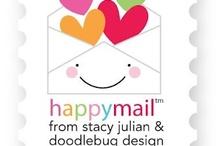 doodlebug happy mail / by doodlebug design inc.