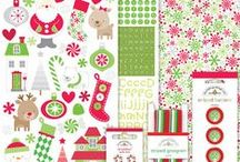 doodlebug home for the holidays collection  / Whether remembering Christmas of old, or the excitement of Christmas to come, our Home for the Holidays Collection is the perfect assortment to inspire your seasonal memories and projects. With a splash of nostalgia and a twist of Doodlebug charm, we bring you an array of holiday papers and accents that even Santa would approve. In classes shades of red & green, this collection will truly evoke the spirit and tradition of being home for the holidays. [Released Summer 2013] / by doodlebug design inc.