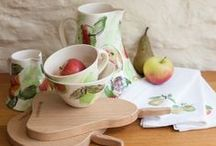 The Orchard Collection / Inspired by the fruit growing in the Orchard at Highgrove, the Gloucestershire home of HRH The Prince of Wales / by Highgrove Shop